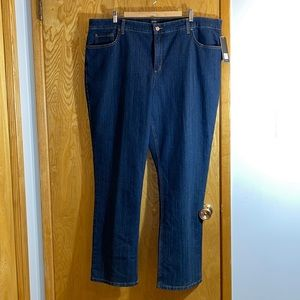 Jones New York Lexington Straight Jeans